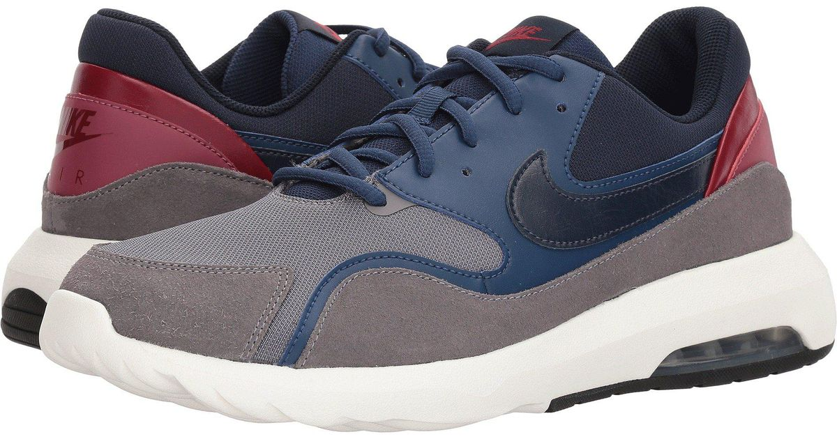 wholesale dealer 2f29f d4372 Lyst - Nike Air Max Nostalgic (gunsmokeobsidiannavyvintage Wine) Mens  Running Shoes in Blue for Men