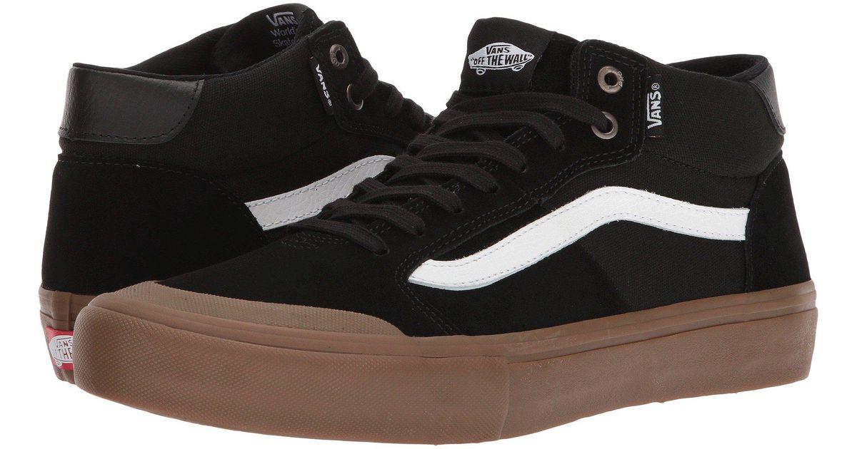 vans style 112 black gum