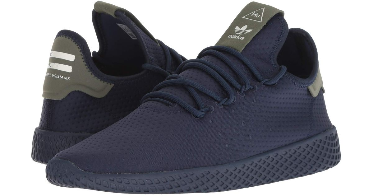 7717e965c Lyst - adidas Originals Pharrell Williams Tennis Human Race (collegiate  Navy collegiate Navy chalk White) Men s Shoes in Blue for Men