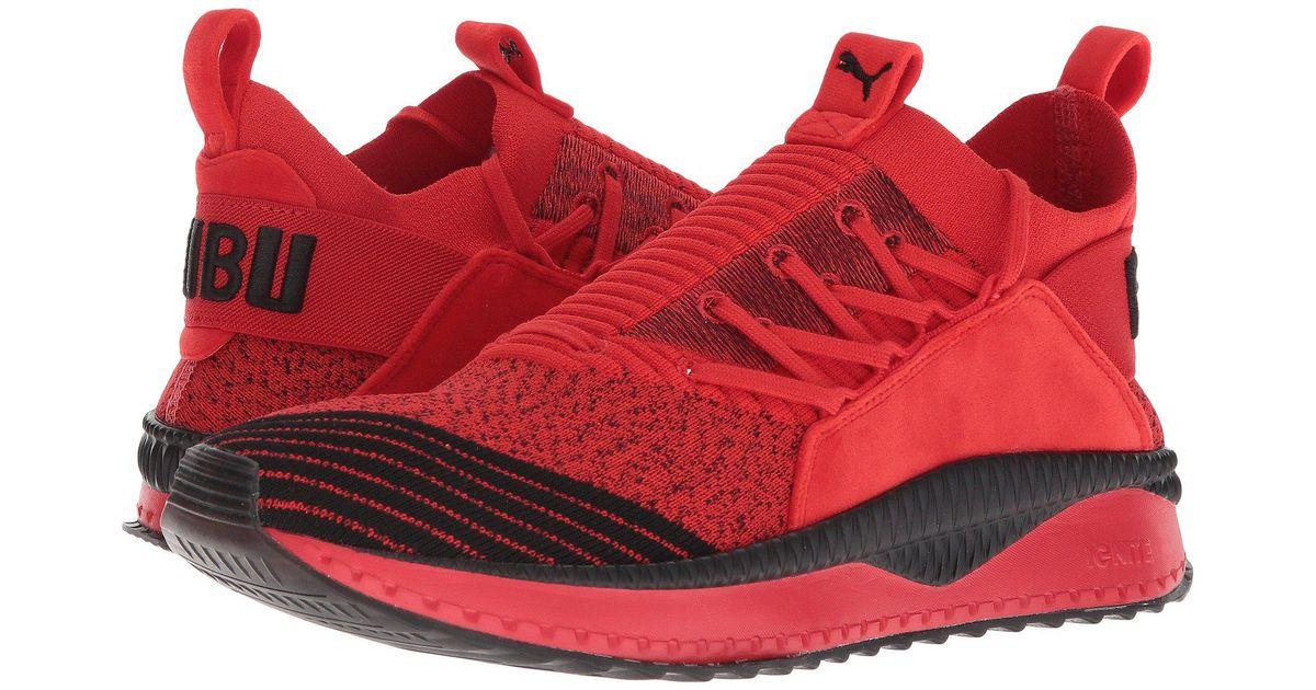 990adc8e163d Lyst - PUMA Tsugi Jun Fubu Bhm (high Risk Red  Black) Men s Shoes in Red  for Men