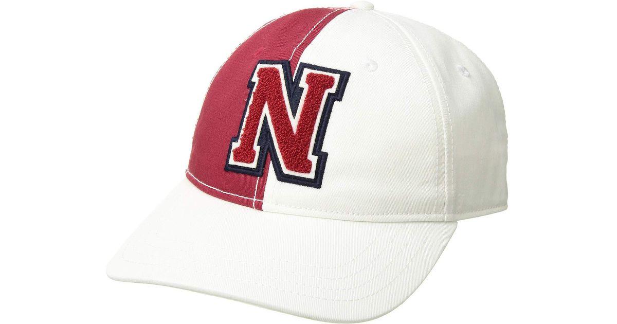 Lyst - Nautica Color Block Dad Hat (navy) Baseball Caps for Men 95dc606f14e