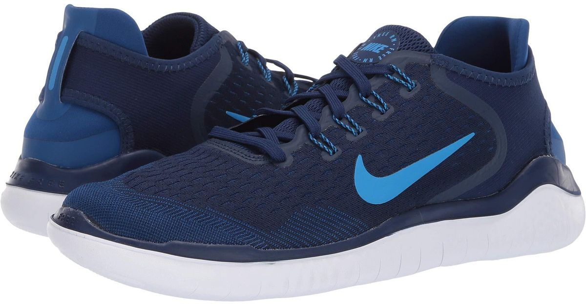 d8b1af351d0e Lyst - Nike Free Rn 2018 Running Shoes in Blue for Men