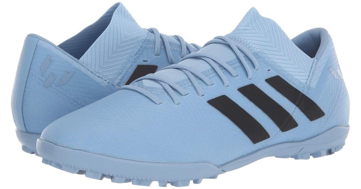 c42a3f9a39ec adidas Nemeziz Messi Tango 18.3 Tf (ash Blue/black/raw Grey) Men's Soccer  Shoes in Blue for Men - Lyst