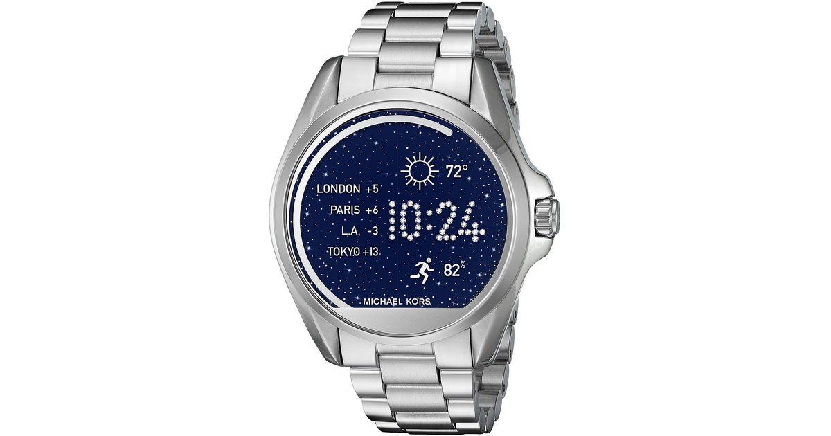 6c71f1d6f172 Lyst - Michael Kors Bradshaw Display Smartwatch - Mkt5012 in Metallic for  Men