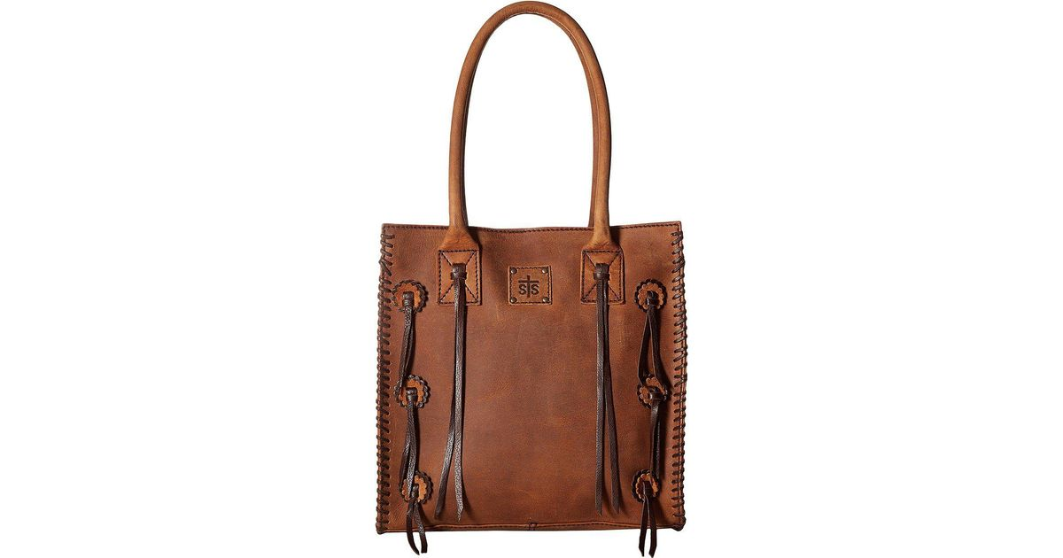 3582050f26e Lyst - Sts Ranchwear Large Chaps Satchel (brown) Handbags in Brown