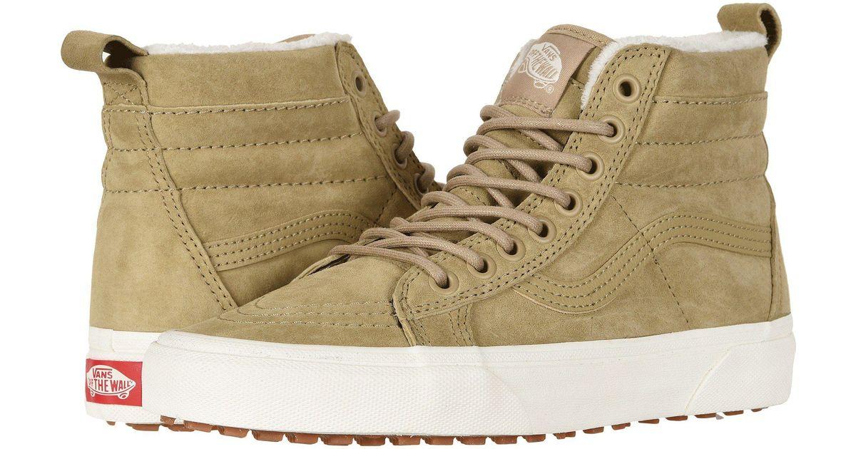 91d92c725b Lyst - Vans Sk8-hi Mte ((mte) Cornstalk marshmallow) Skate Shoes for Men
