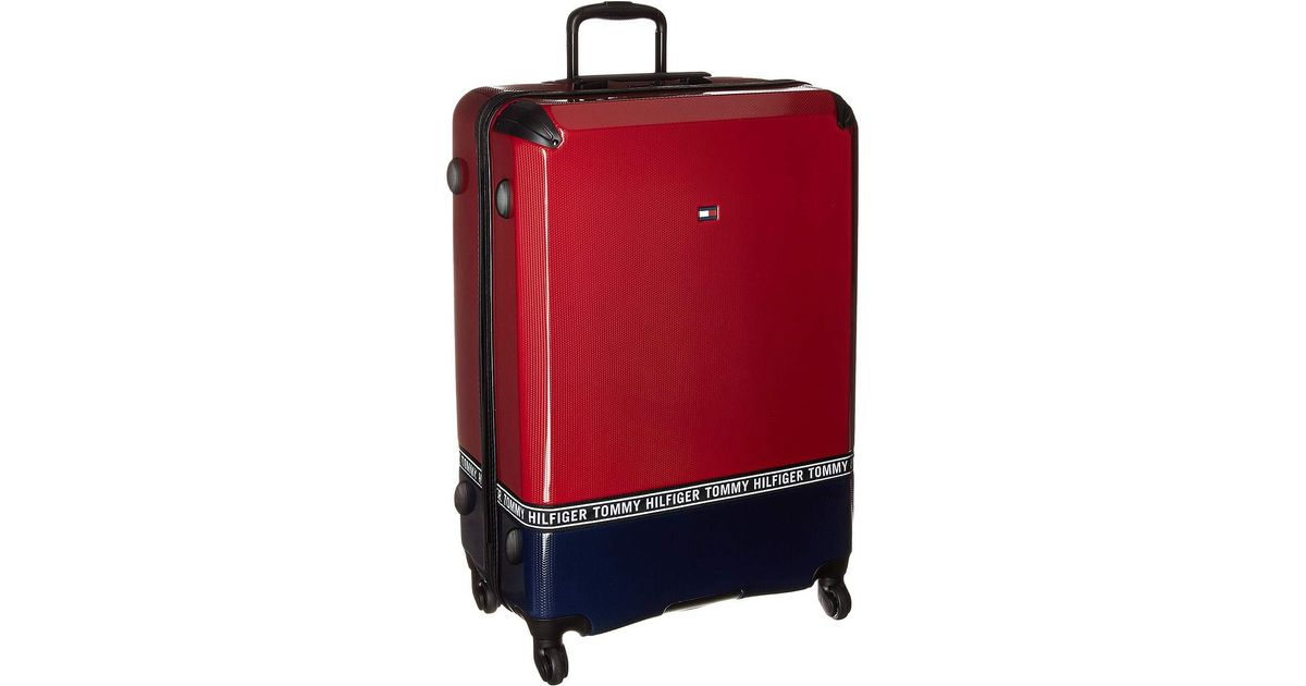 94a85f54cd Tommy Hilfiger Courtside 24 Upright Suitcase (black) Pullman Luggage in Red  for Men - Lyst