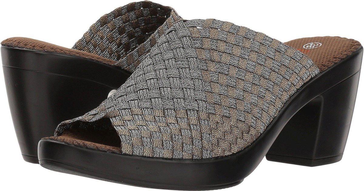 8974ed262bc Lyst - Bernie Mev Sun Texas (black) Women s 1-2 Inch Heel Shoes