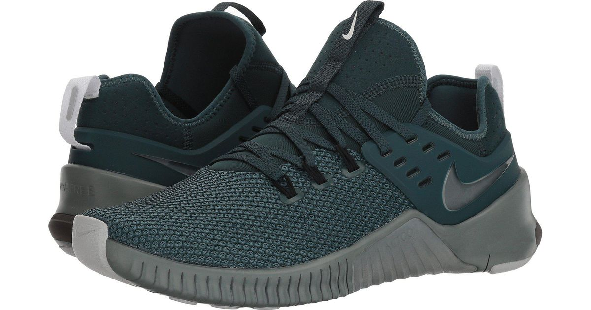 f53db1b2c975 Lyst - Nike Metcon Free (dark Stucco olive Canvas light Silver) Men s Cross Training  Shoes in Green for Men