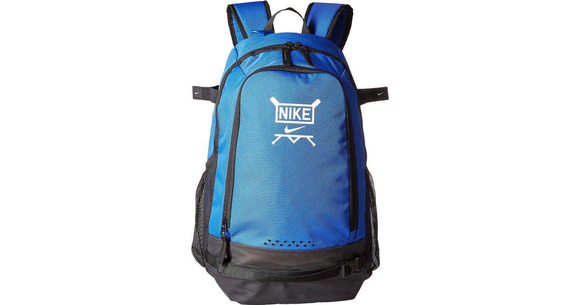 8adf63676366 Lyst - Nike Vapor Clutch Bat Baseball Backpack in Blue for Men