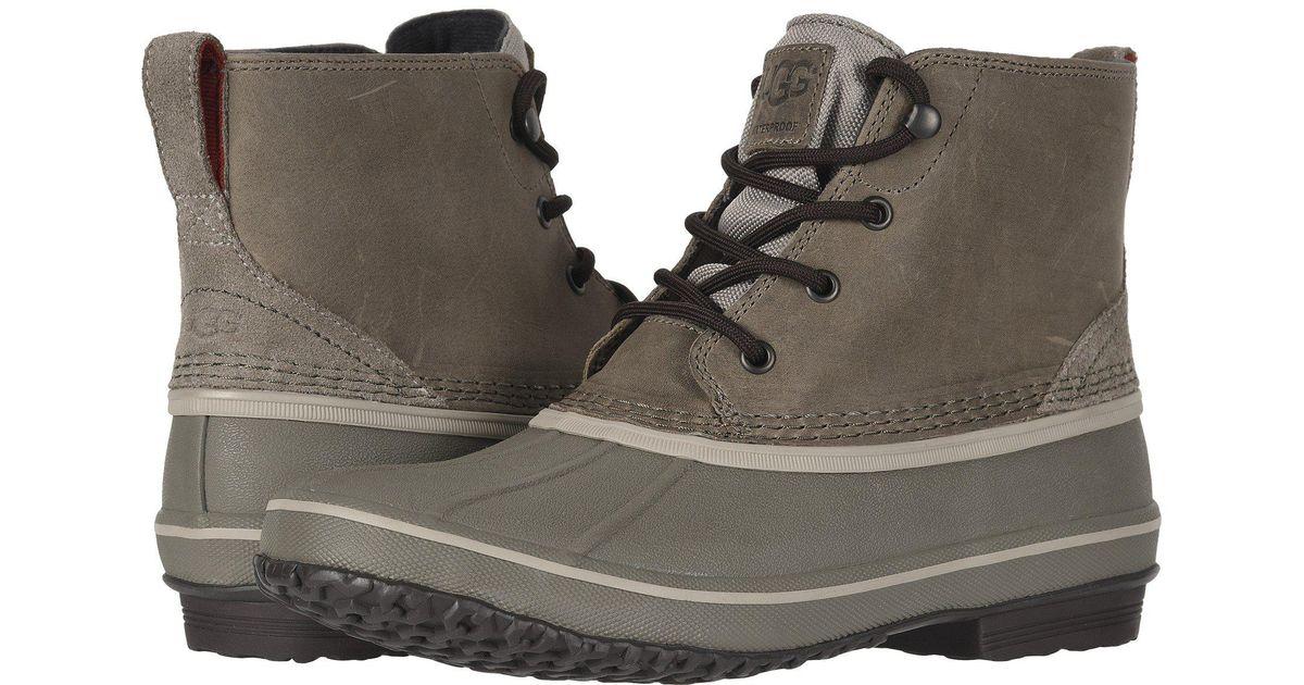 d860235af81 Ugg - Black Zetik Waterproof (chestnut) Men's Shoes for Men - Lyst