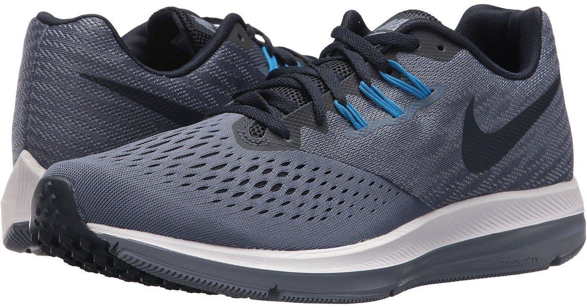 36611ac2f68 Lyst - Nike Zoom Winflo 4 Running Shoes in Blue for Men