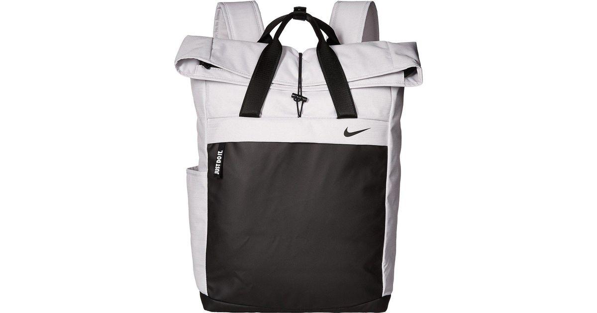 Lyst - Nike Radiate Backpack (black black black) Backpack Bags in Black eb1131464a9f3
