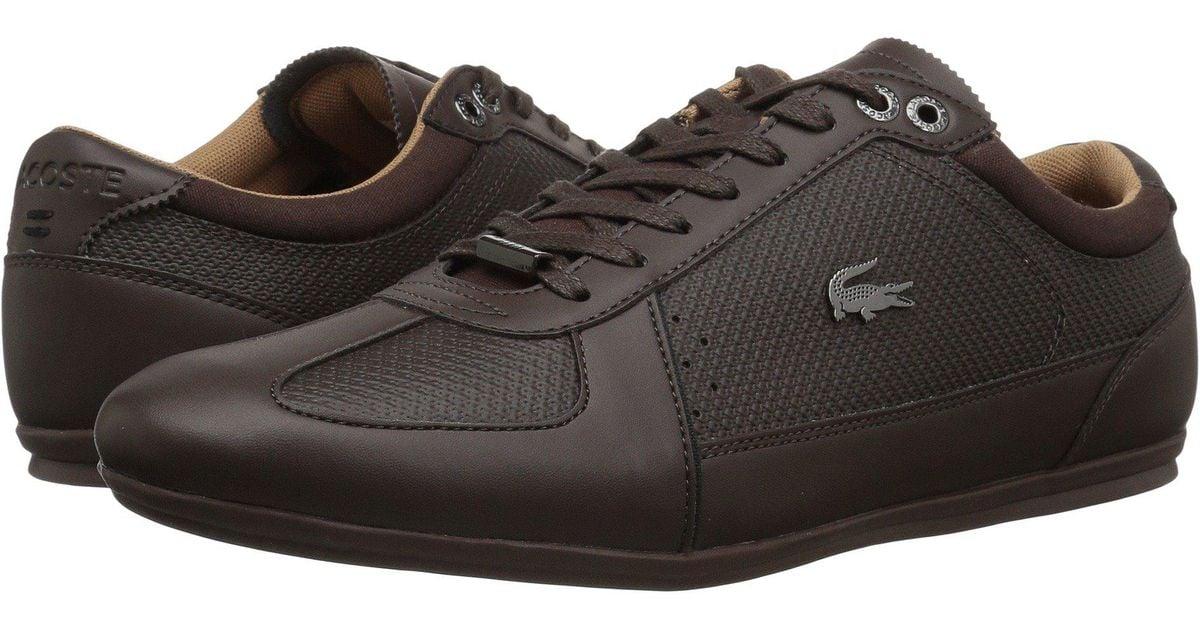 a9b7468d2fda9 Lyst - Lacoste Evara 118 2 (dark Brown black) Men s Shoes in Brown for Men