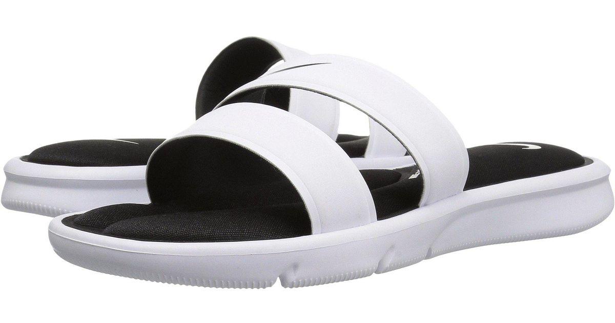 9d55208d6760 Lyst - Nike Ultra Comfort Slide in White