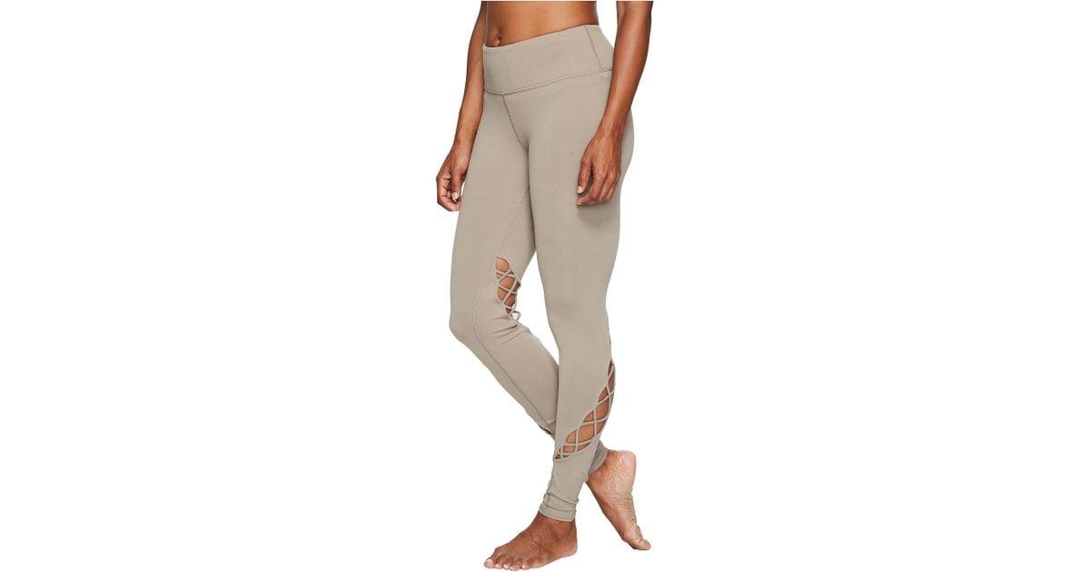 60a5fa9f56e82 Alo Yoga Entwine Leggings (gravel) Women's Casual Pants - Lyst