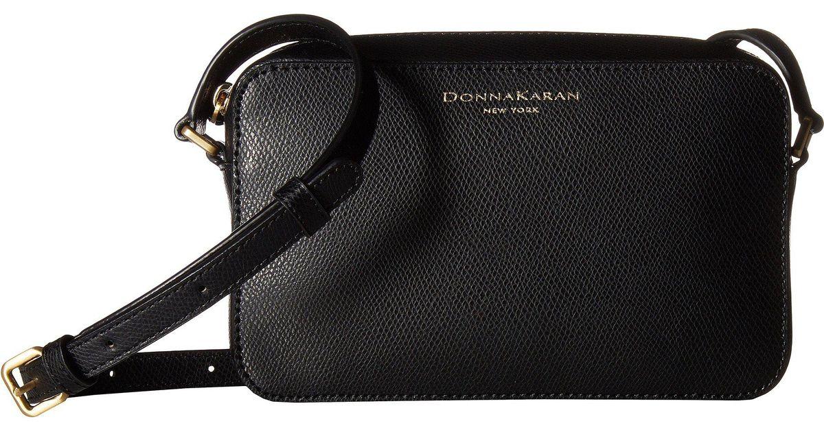 a125f8bf4 donna karan rina camera bag black bags in black lyst