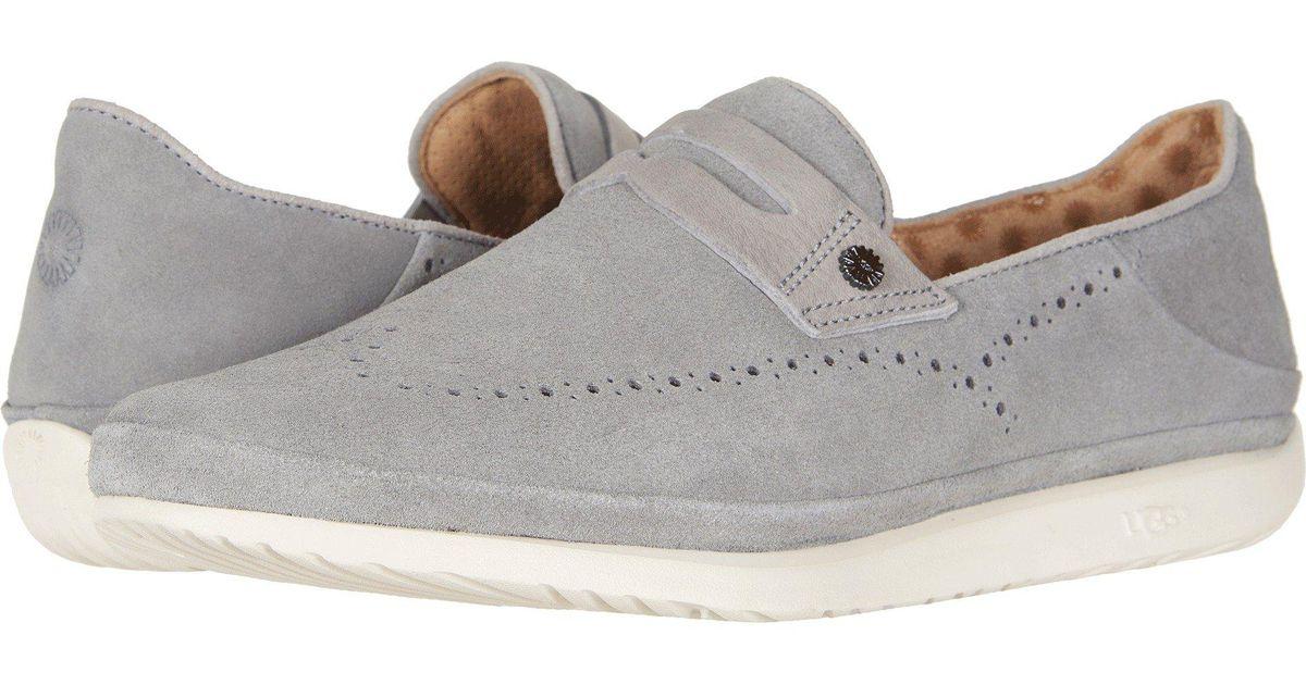 26944a70edc Ugg - Gray Cali Penny Slip-on (seal) Men's Shoes for Men - Lyst