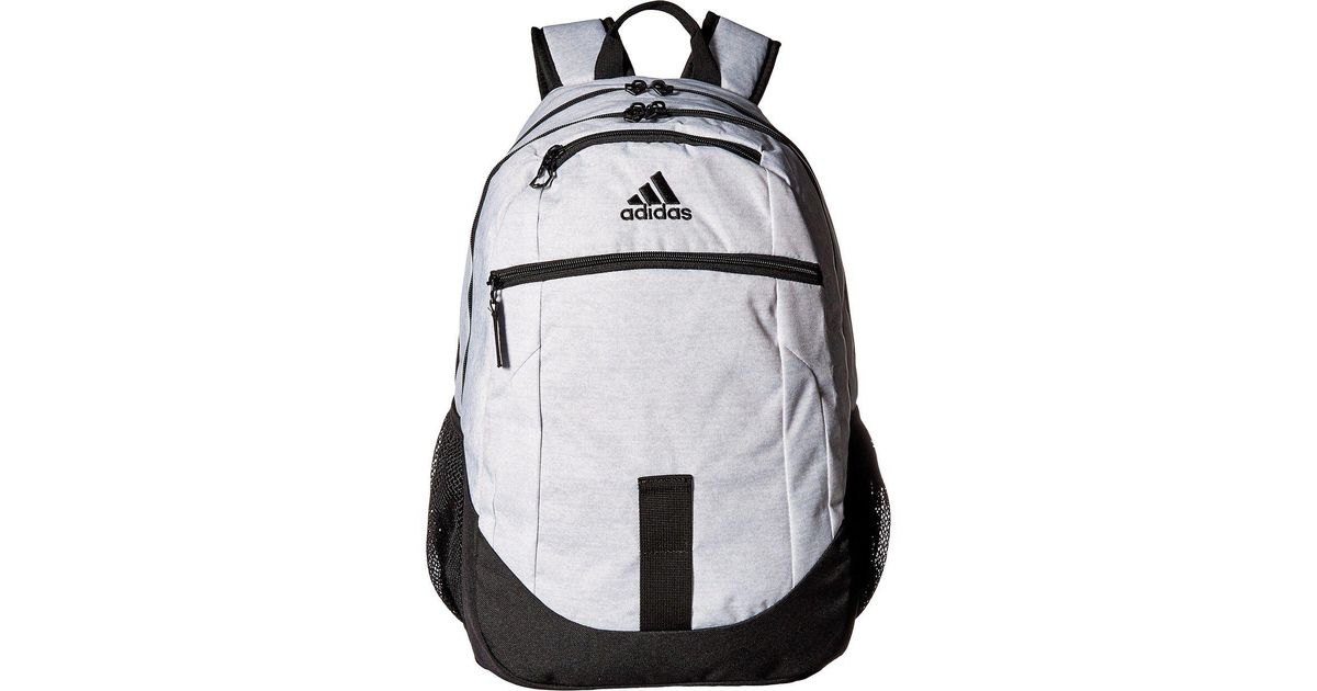 004ad8361e54 ... Lyst - Adidas Foundation Iii Backpack in Black for Men ...