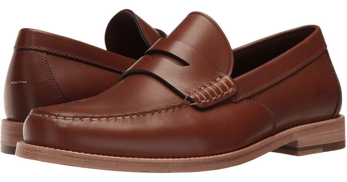 Lyst Coach Manhattan Leather Loafer Black Men S Slip