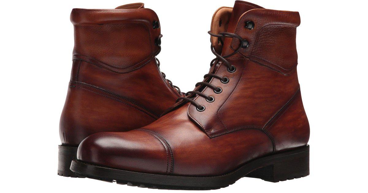 603b0165481 Magnanni Shoes Brown Peyton (cognac) Men's Shoes for men