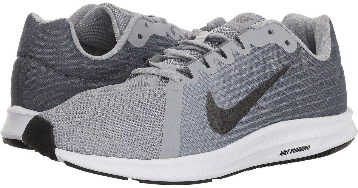 cf6e7f4816e74 Lyst - Nike Downshifter 8 (black black) Women s Running Shoes in Gray -  Save 35%