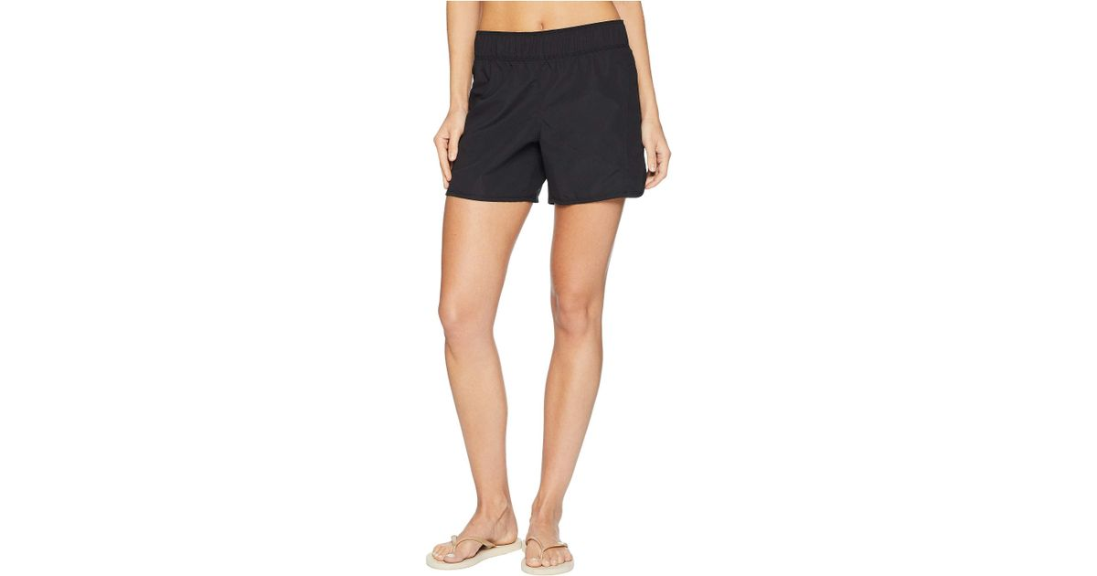Lyst - Hurley Supersuede Beachrider Boardshorts 5 (black) Women s Swimwear  in Black 393e52f8b
