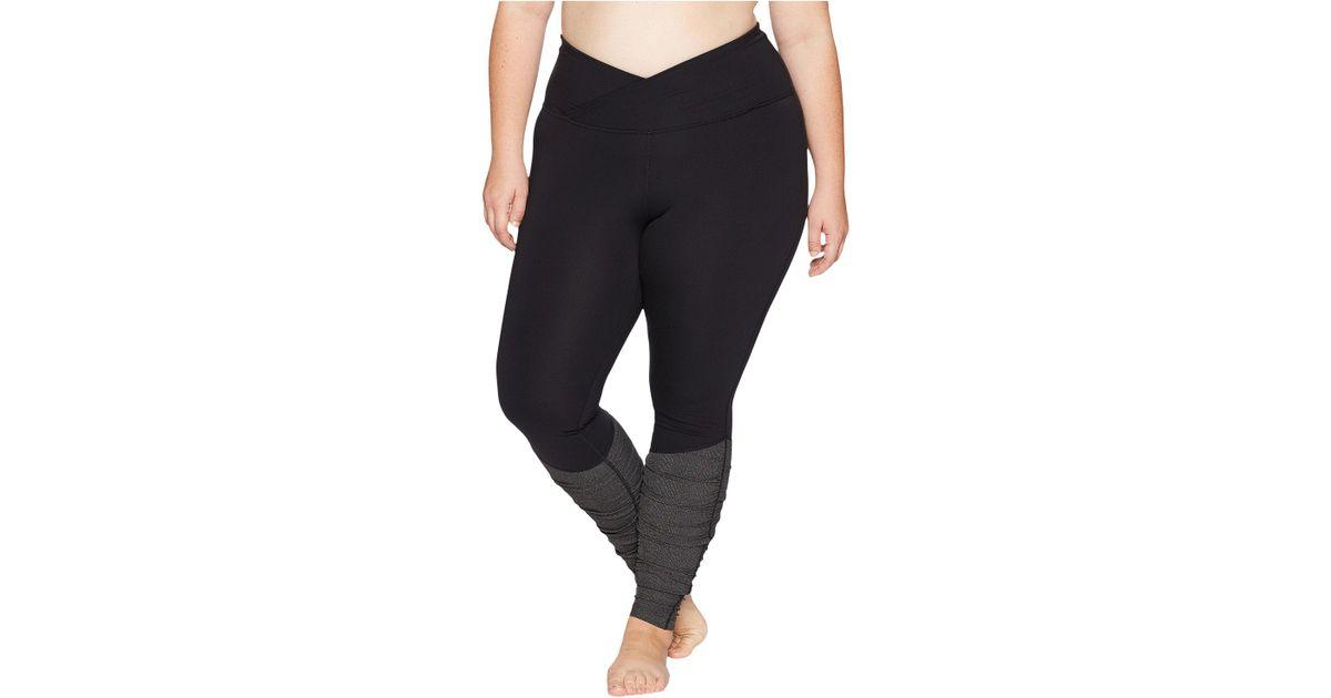 b639c10d04a780 Lyst - Core 10 Icon Series - The Ballerina Plus Size Yoga Leggings (black) Women's  Workout in Black