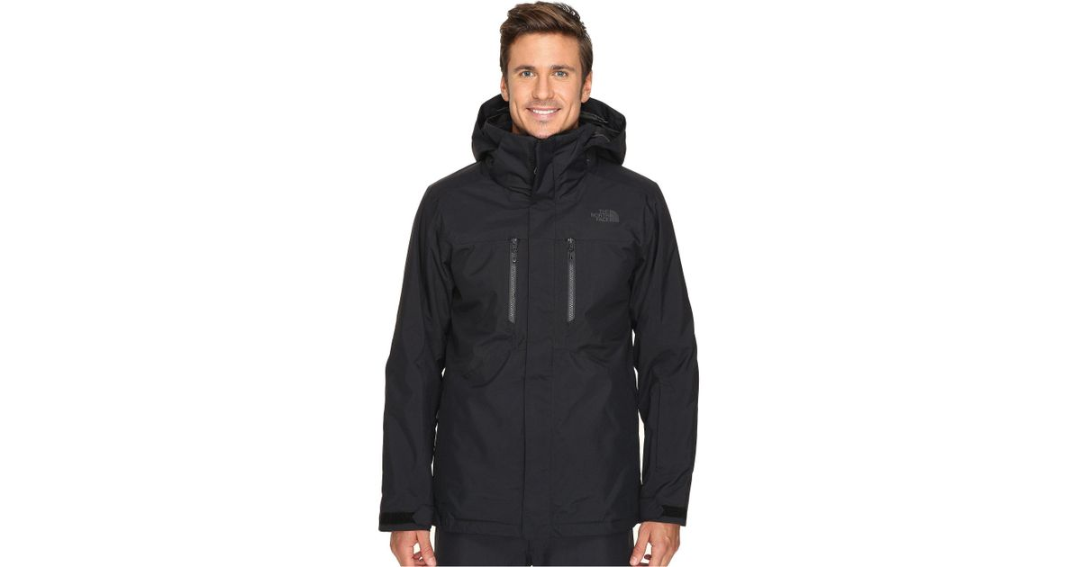 ca4a17bbc1 Lyst - The North Face Clement Triclimate Jacket (tnf Black) Men s Coat for  Men