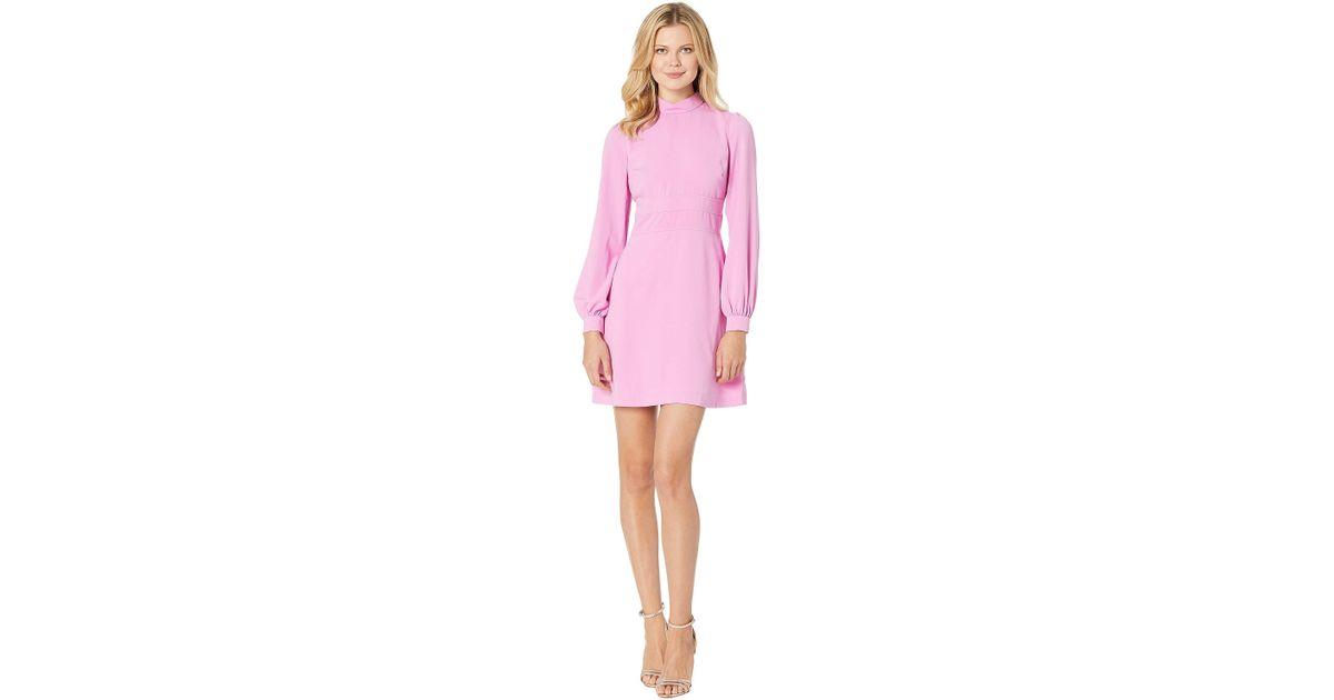 Lyst Jill Jill Stuart Puff Sleeve Dress In Pink