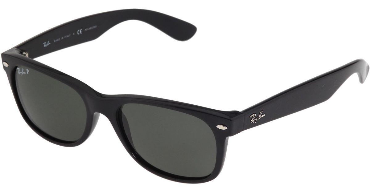 646e75ef35 Lyst - Ray-Ban Rb2132 New Wayfarer Polarized 55mm in Black for Men
