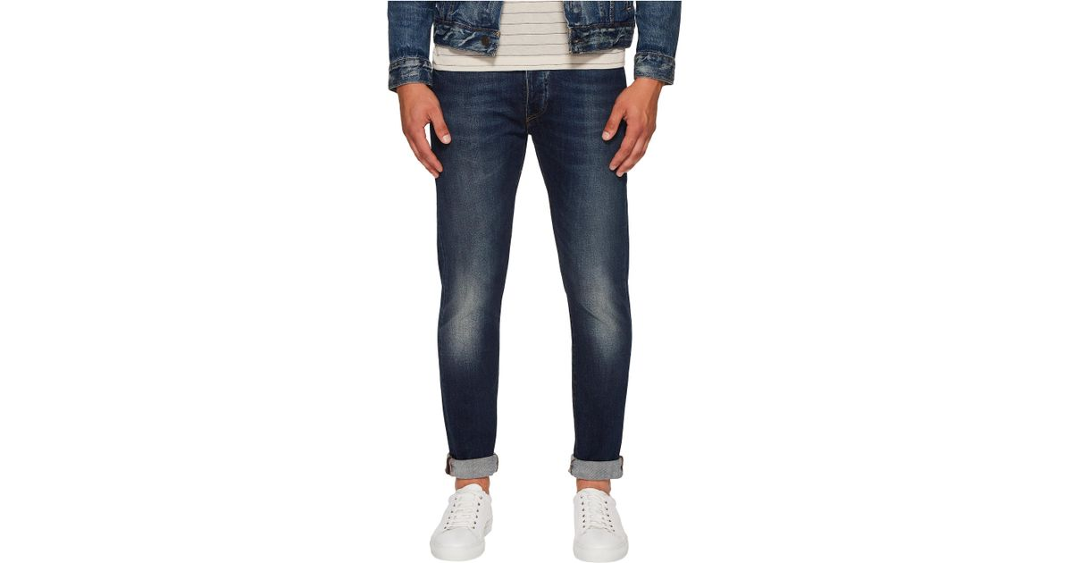 b2d87e1cf3c Lyst - Levi's Premium Made & Crafted Tack Slim Jeans in Blue for Men