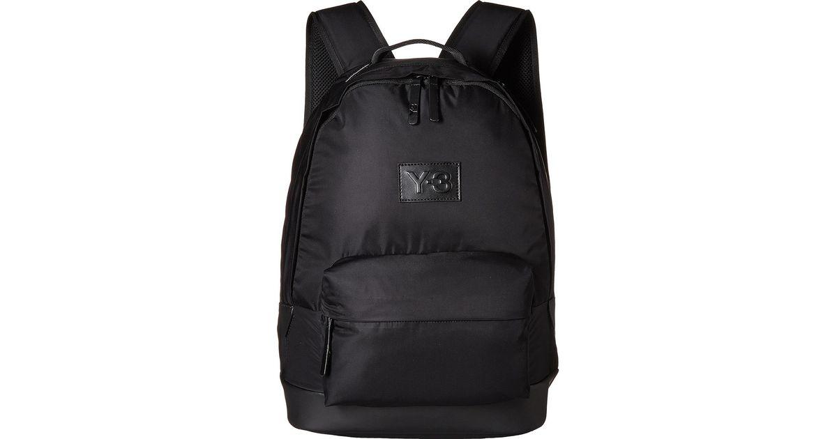f92e109656a2 Lyst - Y-3 Techlite Backpack in Black for Men