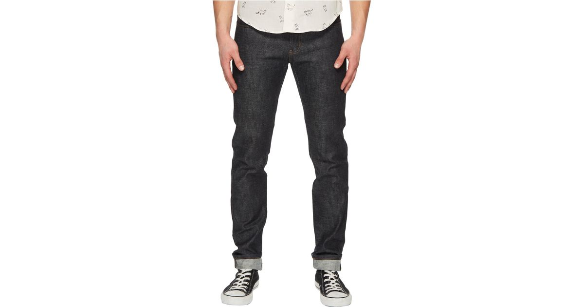 f9954968 Naked & Famous Super Skinny Guy Earth Dog Chinese New Year Jeans in Blue  for Men - Lyst