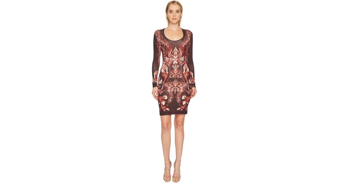 Clearance Footlocker Finishline Just Cavalli scoop neck dress Clearance Official Discount Pick A Best Sale Professional Websites For Sale tGS9aS