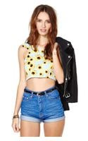 Nasty Gal Sundaze Crop Top