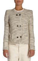 Isabel Marant Laure Textured Knit Jacket - Lyst