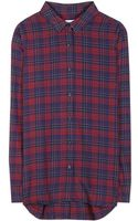 Closed Plaid Cotton Shirt - Lyst