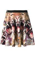 Philipp Plein Crazy Jungle Print Skirt - Lyst