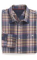Tommy Hilfiger Classic Fit Heather Plaid Shirt - Lyst