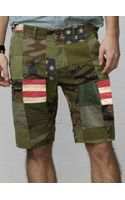 Denim & Supply Ralph Lauren Patchwork Chino Short - Lyst