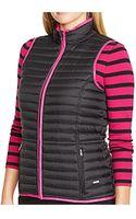 Lauren by Ralph Lauren Plus Size Quilted Vest - Lyst