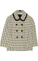 Marni Bonded Wool-blend Jacket - Lyst
