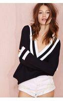 Nasty Gal Boys Club Sweater Navy - Lyst