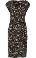 Michael Kors Knee .Length Dress - Lyst