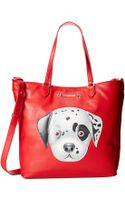 Love Moschino I Love Puppy Tote - Lyst