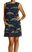 M Missoni Dress Sleeveless Scuba Print with Pocket and Bottons - Lyst