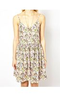 Traffic People Butterfly Print Cami Dress - Lyst