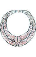 Elizabeth Cole Crystal Necklace - Lyst