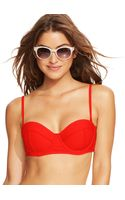 Roxy Underwire Bikini Top - Lyst